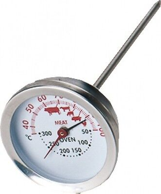 STAR Dual Thermometer 8145 Edelstahl Braten- Grill- Fleisch-Thermometer