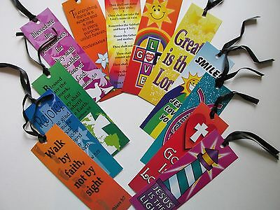 72 Cardstock Religious BOOKMARKS church FREE SHIP VBS favors
