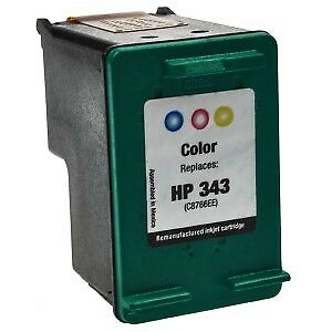 Compatible Text quality 343 ( C8766ee ) Colour Ink Cartridge for HP
