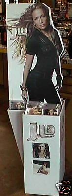 "Jennifer Lopez ""j.lo"" Giant U.s. Promo Stand-Up Display"
