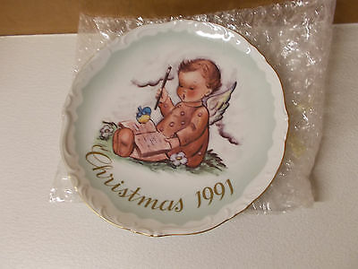 """Fitz & Floyd Petits Veds Canape Plate """"Christmas 1991"""""""