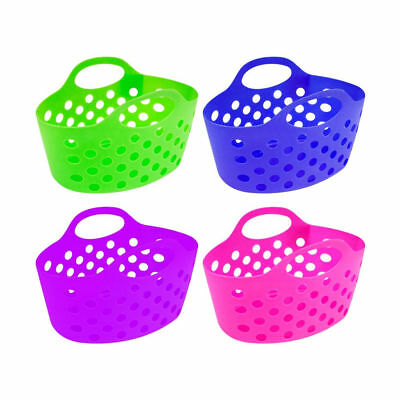Handy Small Plastic Cleaning Laundry Peg Craft Caddy Storage Carry Baskets
