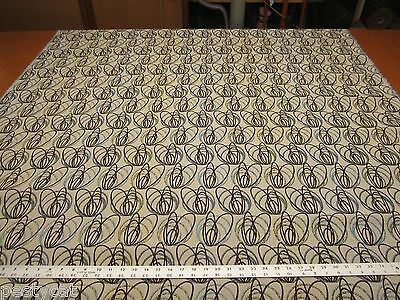 7 5/8 yards Bangles heavy duty contemporary upholstery fabric color lagoon r1122