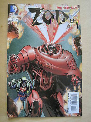Superman  Action Comics 23.2 / Zod # 1. The New 52 !   Dc.  2013