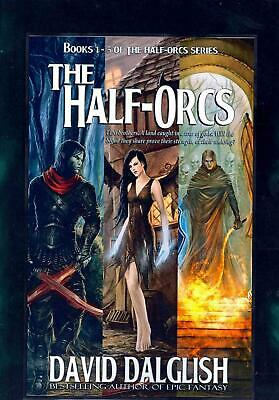 The Half-Orcs: Books 1-5 by David Dalglish (English) Paperback Book Free Shippin