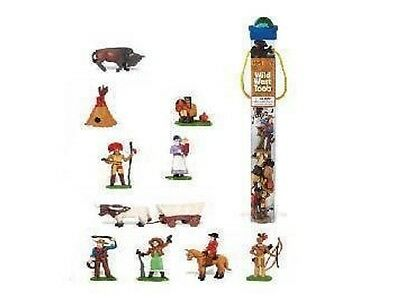 Wild West - Leben im Wilden Westen 11 Minifiguren Themengebiet Safari Ltd 680904