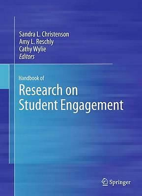 NEW Handbook of Research on Student Engagement by Paperback Book (English) Free