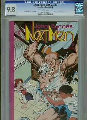 Next Men #3  (1st Print)  CGC 9.8  White Pages