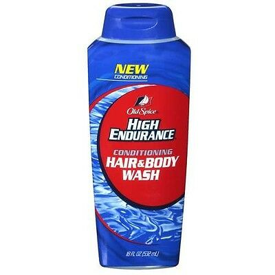 Old Spice High Endurance Hair and Body Wash Men 18oz