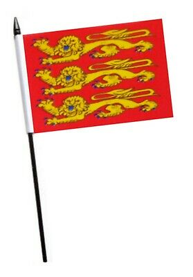 France Upper Normandy Small Hand Waving Flag