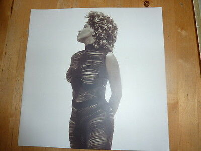 "Tina Turner ""twenty Four Seven Around The World"" Programme Excellent Condition"
