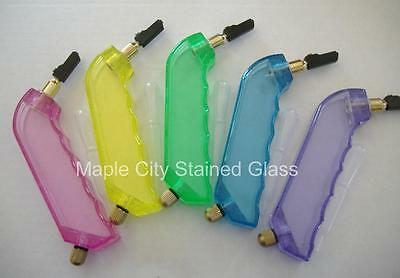 Stained Glass Colorful Pistol Style Cutter Carbide Heads - long lasting NEW