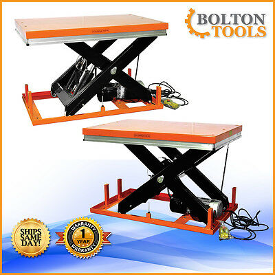 Electric Hydraulic Lift Table 11000 Lb Capacity Et5002