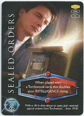 Torchwood Card 096 - Sealed Orders - Common