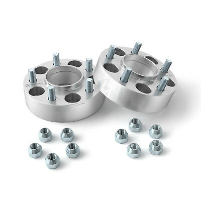 """2.0"""" 5x4.75 to 5x4.75 Hubcentric Wheel Spacers with Lip 