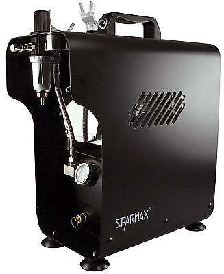 Sparmax TC-620X Professional Twin Piston Airbrush Compressor (2.5 litre)