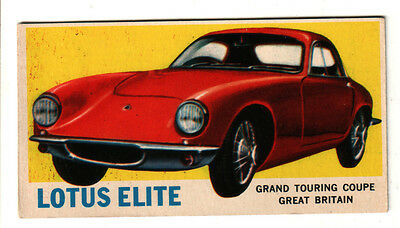 1961 Topps SPORTS CARS Single Card #66 (VG Condition) - Lotus Elite