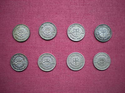 GEORGE VI SILVER THREEPENCE 3d 1937 to 1944 (RARE) Choose your date