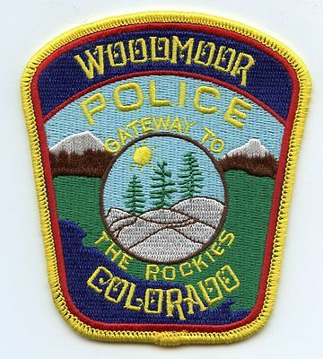 WOODMOOR COLORADO CO Gateway To The Rockies POLICE PATCH