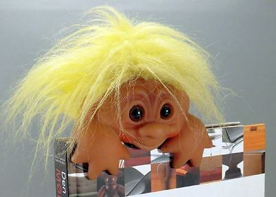 TROLL von Thomas DAM, Regalmaskottchen. 1985 Made in Danmark