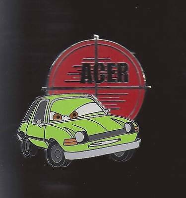 Disney Pin Disney Pixar Cars 2 Mystery Set Acer Chaser 3d Pin LE 500