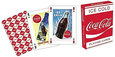 Coca Cola Red set of 52 playing cards (nm)