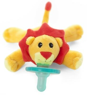 New Wubbanub Infant Baby Soothie PACIFIER ~ Brights Little Lion