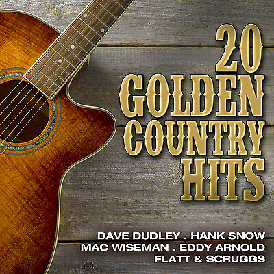CD 20 Golden Country Hits von Various Artists mit Dave Dudley, Hank Snow