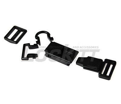 Fast Hook - Helmet Clips Luggage Quick Release buckle D ring replace Made in USA
