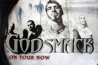 GODSMACK 2001 Sully BIG on tour now promotional poster Flawless New Old Stock