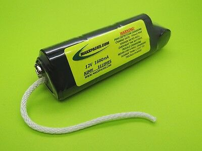 1600 Battery & Peak Charger For Minelab Excalibur Model 1000 / Made In Usa