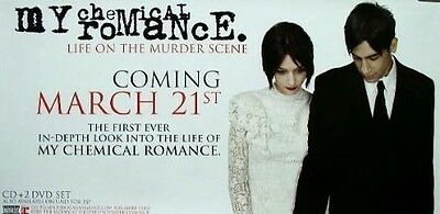 My Chemical Romance 2006 murder scene poster #2 ~MINT condition~!!
