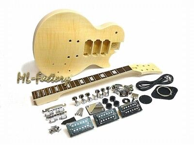 E-Gitarren-Bausatz / Guitar DIY Kit ML-Factory® MLP Standard 3 x Humbucker