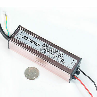 AC85V-265V 50-60HZ Waterproof10W 20W 30W 50W High Power LED Driver
