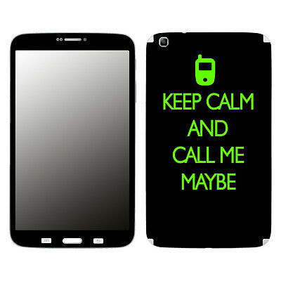 Disagu Skin für Samsung Galaxy Tab 3 TM-315 KEEP CALM AND CA... Aufkleber