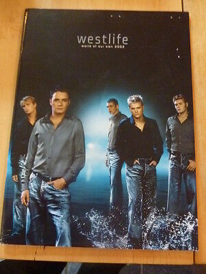 Westlife World Of Our Own 2002 Tour Programme Plus Ticket
