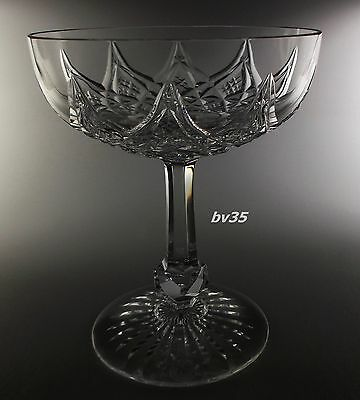 """BACCARAT COLBERT crystal CHAMPAGNE SHERBETS  4 3/4"""" - PERFECT!"""