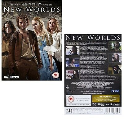 NEW WORLDS 1 (2014) Jamie Dornan, Freya Mavor TV Season MiniSeries R2 DVD  not US