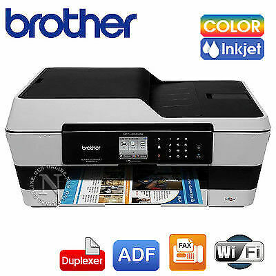 Brother MFC-J6520DW 4in1 A3 Copy/Scan Wireless Color Printer+Auto Duplexer *RFB*