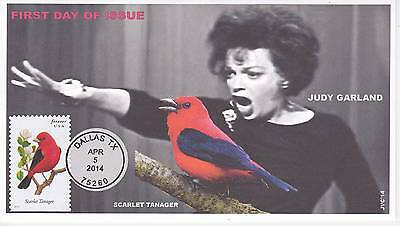 Jvc Cachets - 2014 Songbirds First Day Covers Fdc Topical Music Judy Garland