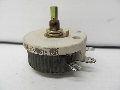 Ohmite 50 Watt Model J Rheostat Rjs2R0 Used