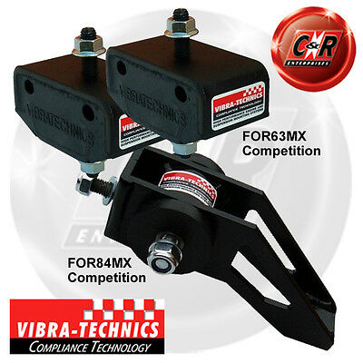 Ford Fiesta MK3 89-95 + Series 2 Turbo Vibra Technics Full Engine Mount Race Kit
