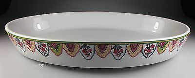 "Philippe Deshoulieres Persepolis Oval Baker - Serving Dish  13 7/8""  - Perfect!"