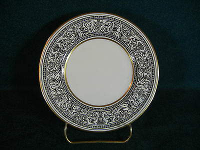 Wedgwood Florentine Black W4312 Gold with Dragons Bread and Butter Plate(s)