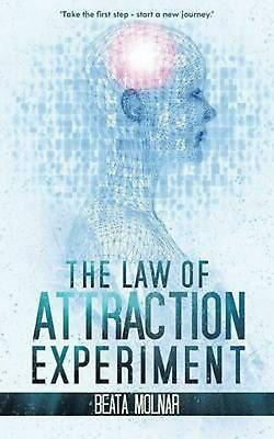 The Law of Attraction Experiment by Beata Molnar (English) Paperback Book Free S