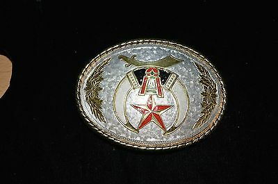 Masonic Mason's Large Belt Buckle Made in U.S.A.