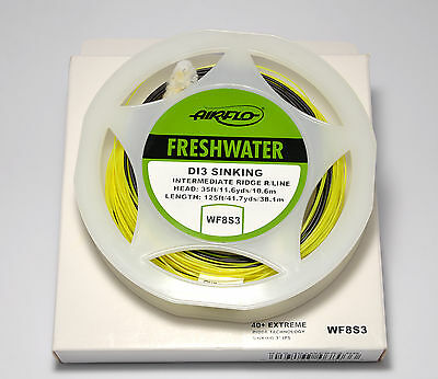 Airflo NEW 40+ Distance Fly Fishing Lines Various Densities RRP £39.99 Fortyplus