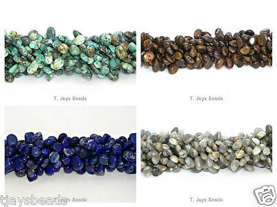 Gemstone Drop Style Chip Beads for Jewellery Making