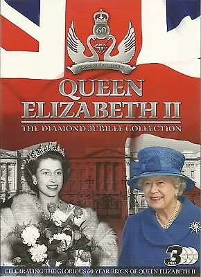 Queen Elizabeth The Diamond Jubilee - 3 Dvds - Extreme Royal Collections + More