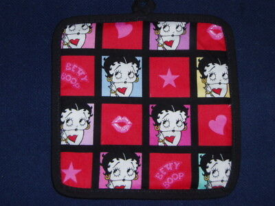 2 NEW  handcrafted Potholders - BETTY BOOP